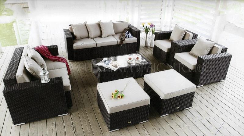 """Фото - Плетеная мебель """"Adagio"""" / Sunline Design"""