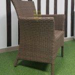 Фото - Кресло садовое из ротанга Nina Royal beige