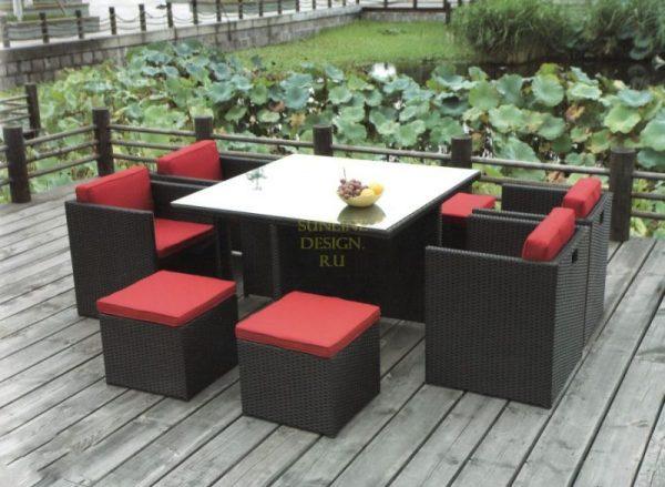 Фото -Плетеная мебель Barbados Full Set