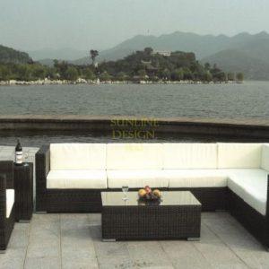 Фото - Плетеная мебель Nina black Lounge SunLinrdesign