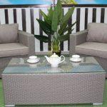 Фото-Плетеный стол кофейный Louisiana