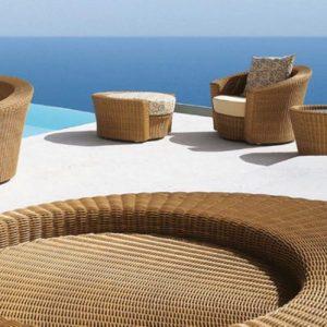 Плетеная мебель Пляж & СПА