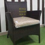 Фото - Кресло из искусственного ротанга Nina brown