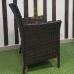 Фото - Кресло из ротанга садовое Nina brown