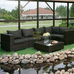 Nina black Плетеная мебель