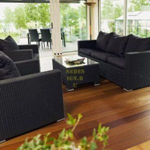 Фото - Плетеная мебель Brunei Black