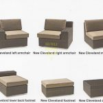Фото - Плетеная мебель Cleveland модули