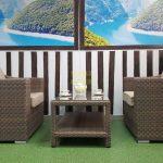 Фото-Плетеная мебель Glendon 3 set