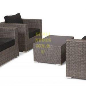 Фото - Плетеная мебель LOUISIANA MOCCO