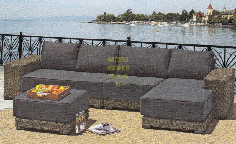 Плетеная мебель Sunlinedesign Laguna Lounge