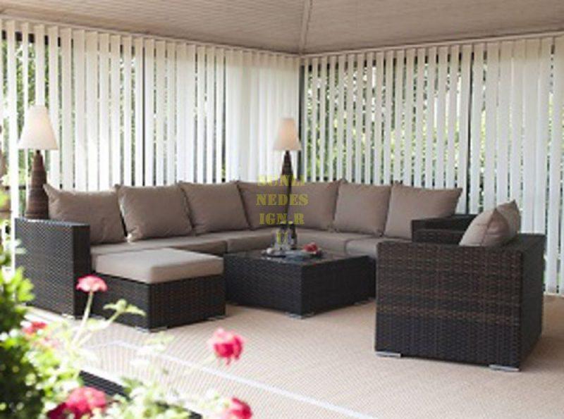 Фото - Плетеная мебель Nina brown