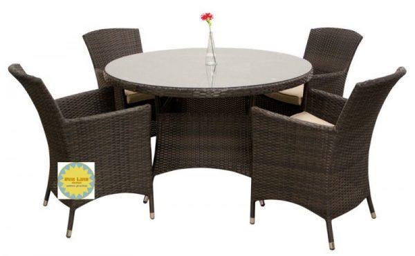 Фото - Плетеная мебель Nina brown Sunlinedesign