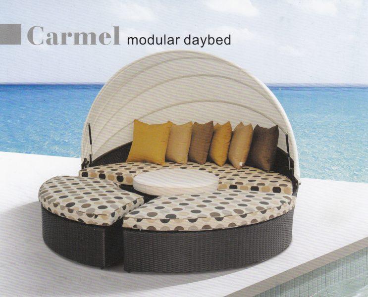 Фото - Плетеная мебель лежак Carmel