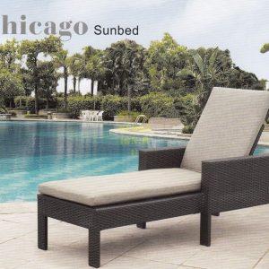 Фото - Плетеный лежак Chicago Sunlinedesign