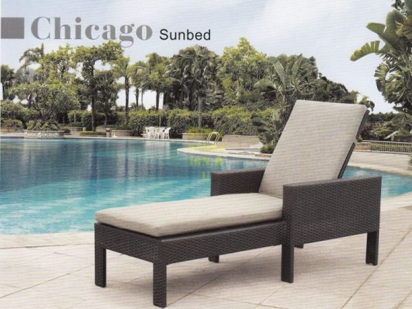 Фото - Плетеный лежак Chicago Sunlinedesign