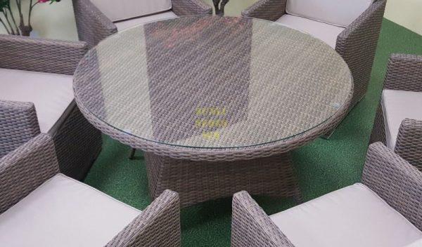Фото-Стол плетеный Nina 120