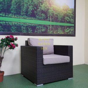 Фото-Acoustic brown кресло искусственный ротанг