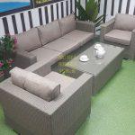 Фото - Louisiana mocco мебель из ротанга садовая