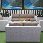 Фото - Мебель для террасы Louisiana patio set white&beige Sunlinedesign