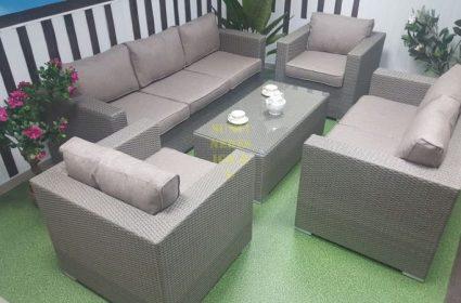 Фото - Мебель из искусственного ротанга Louisiana patio set