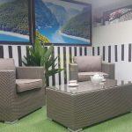 Фото - Плетеная мебель Louisiana cafe set mocco