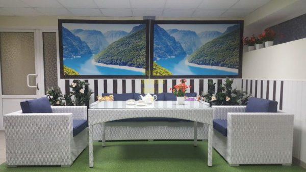 Фото-Плетеная мебель Louisiana dining lounge set
