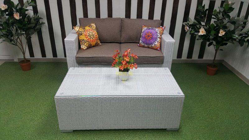 Фото-Плетеная мебель Louisiana hall set white&beige Sunlinedes