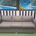 Фото - Плетеная мебель диван Louisiana