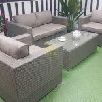 Фото - Плетеная мебель из ротанга Louisiana Lounge mocco