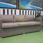 Фото - Плетеный диван из искусственного ротанга Louisiana mocco 3-х местный