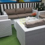Фото - Sunlinedesign белая мебель из ротанга Louisiana patio set