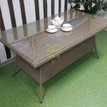 Фото-Фабрика плетеной мебели Sunlinedesign стол Samurai
