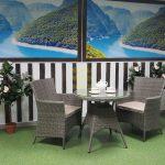 Фото-Комплект из искусственного ротанга Samurai cafe set
