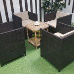 Фото-Кресло садовое из ротанга Chicago Sunline Design