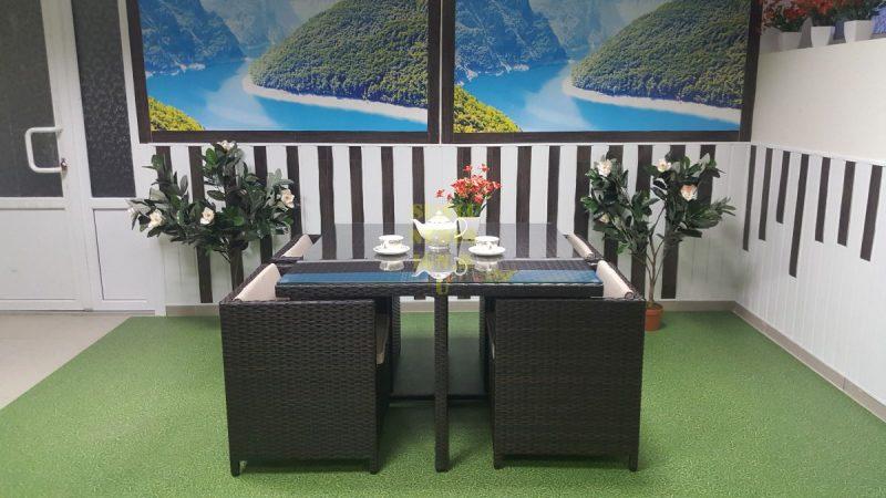 Фото-Плетеная мебель New York Royal brown