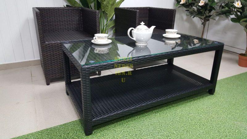 Фото-Плетеная мебель New York cafe set