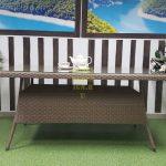 Фото-Плетеный стол обеденный Samurai