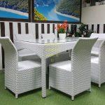 Фото-Ротанг искусственный мебель обеденная Rose Sunline Design
