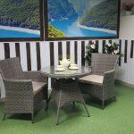 Фото-Ротанг мебель Samurai nature cafe set