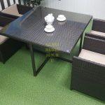 Фото-Садовая мебель из искусственного ротанга New York