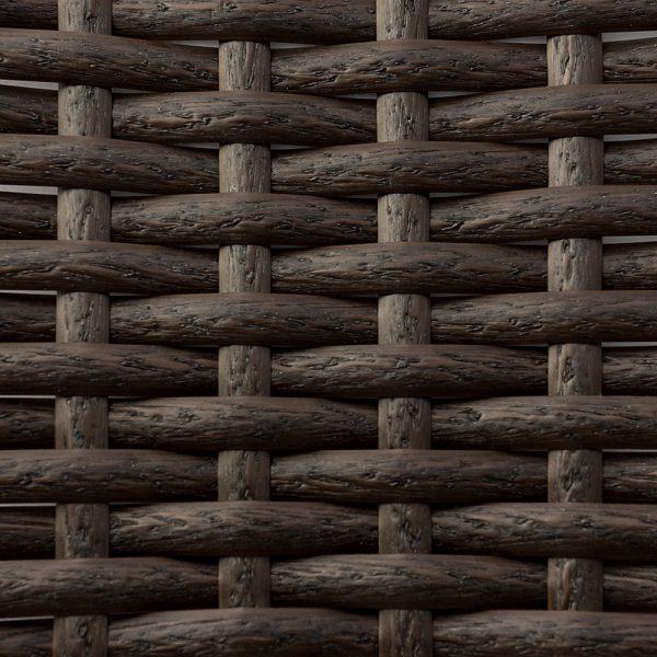 Фото-Искусственный ротанг Flat Wenge Wood