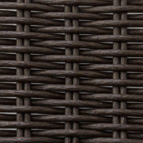 Фото-Искусственный ротанг Round Wenge Wood
