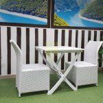 Фото-Плетеная мебель Arizona 2 white