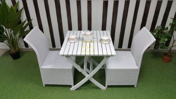 Фото-Плетеная мебель Arizona 2 white Sunline Design