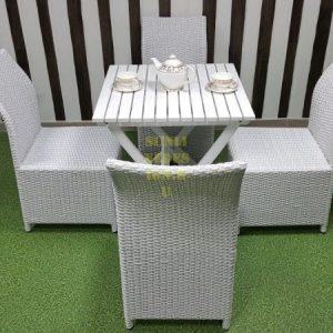 Фото-Плетеная мебель Arizona 4 white Sunline Design
