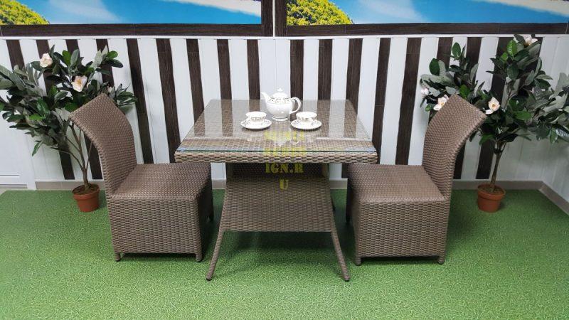 Фото-Плетеная мебель Rose 2 royal beige