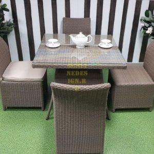 Фото-Плетеная мебель Rose 4 beige Sunline Design