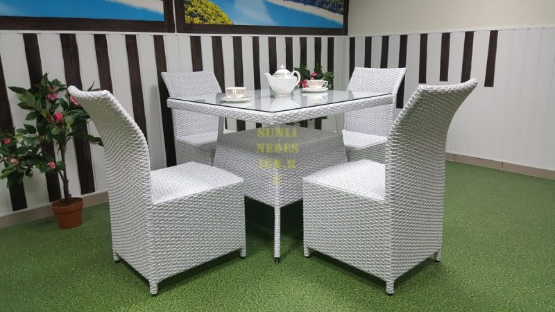 Фото-Плетеная мебель Rose 4 white Sunline Design