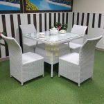 Фото-Плетеная мебель Sunline Design Rose 4 white