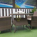 Фото-Ротанг мебель Sunlinedesign Samurai beige 2